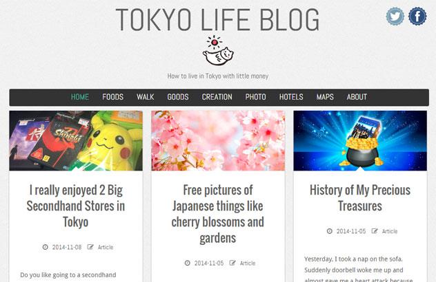 Tokyo life blog English